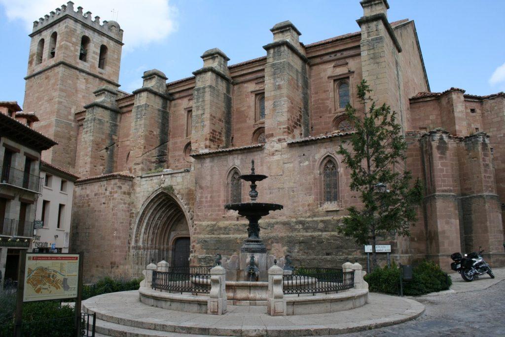 Colegiata (church) of Mora de Rubielos.